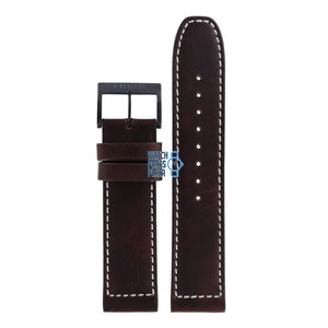 Citizen Citizen CA4215-04W Watch Band Brown Leather 22 mm