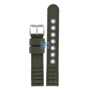 Citizen Citizen BM8180-03E & BM8180-20E Watch Band Green Leather & Textile 18 mm