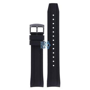 Citizen Citizen BN0205-10L & NY0075-12L Horlogeband Zwart Siliconen 22 mm