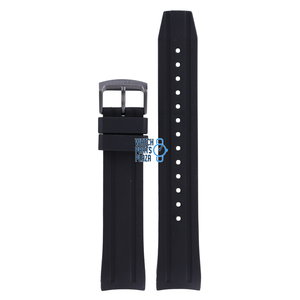 Citizen Citizen BN0205-10L & NY0075-12L Watch Band Black Silicone 22 mm