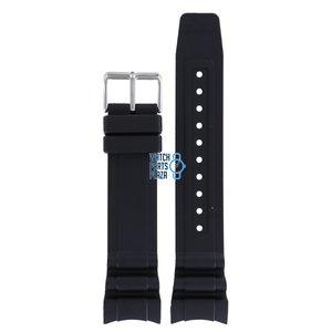 Citizen Citizen BN0100, BN0101, BN0120 & BN0180 Correa De Reloj Negro Silicona 23 mm
