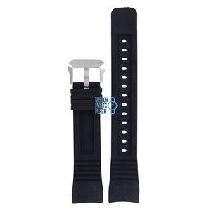 Citizen Citizen BJ2128-05E Aqualand Horlogeband Zwart Siliconen 23 mm