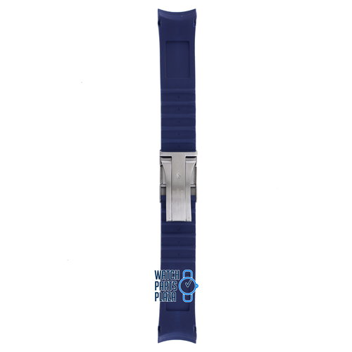 Citizen Citizen JY0064-00L Blue Angels Skyhawk Watch Band 59-S51736 Blue Silicone 22 mm Promaster