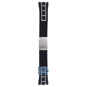 Citizen Citizen AT4021-02L, AT4025-01E & AT4027-06E Horlogeband Zwart Rubber & Metaal 24 mm