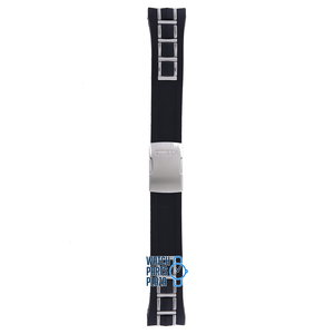 Citizen Citizen AT4021-02L, AT4025-01E & AT4027-06E Watch Band Black Rubber & Steel 24 mm