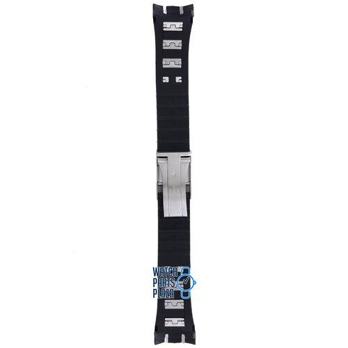 Citizen Citizen AT4021-02L, AT4025-01E & AT4027-06E Watch Band 59-S53229 Black Rubber & Steel 24 mm Perpertual Calendar