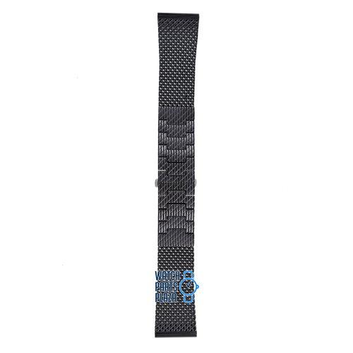Citizen Citizen JY8036-52E & JY8037-50E Navihawk Correa De Reloj Negro Acero Inoxidable 23 mm