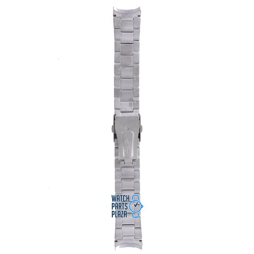 Citizen Citizen BM7080, BM7081, CA0020, CA0021 & CA0024 Watch Band 59-S04255 Grey Stainless Steel 22 mm Eco-Drive