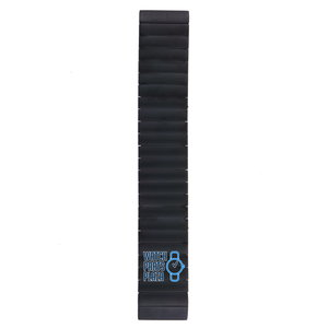 Philippe Starck Philippe Starck PH5014 Watch Band Black Stainless Steel 30 mm