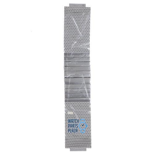 Philippe Starck Philippe Starck PH5000 Watch Band Grey Stainless Steel 20 mm