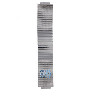 Philippe Starck Philippe Starck PH5000 Horlogeband Grijs Roestvrijstaal 20 mm