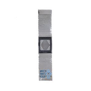 Philippe Starck Philippe Starck PH5008 Horlogeband Grijs Roestvrijstaal 27 mm