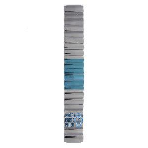 Philippe Starck Philippe Starck PH5017 Horlogeband Grijs Roestvrijstaal 18 mm