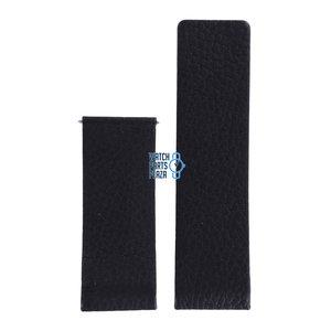 Philippe Starck Philippe Starck PH5010 Watch Band Black Leather 30 mm