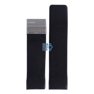Philippe Starck Philippe Starck PH5006 Horlogeband Zwart Leer 26 mm