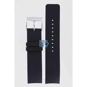 Michael Kors Michael Kors MK8040 & MK8409 Horlogeband Zwart Siliconen 22 mm