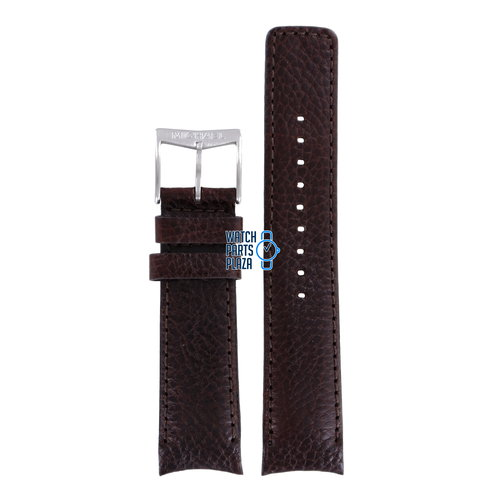 Michael Kors Michael Kors MK8021 Watch Band Brown Leather 22 mm