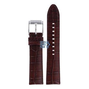 Michael Kors Michael Kors MK8115 Watch Band Brown Leather 22 mm