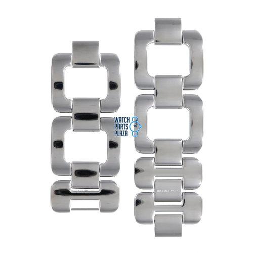 Michael Kors Michael Kors MK3066 Watch Band Grey Stainless Steel 30 mm