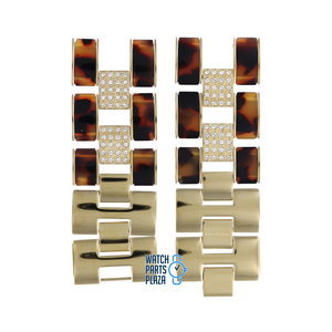 Michael Kors Michael Kors MK4182 Watch Band Gold Plated Stainless Steel 28 mm