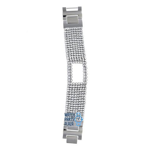 Michael Kors Michael Kors MK4126 Horlogeband Wit Leer 26 mm