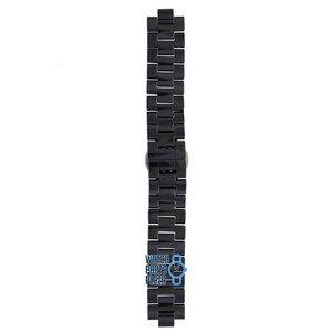 Michael Kors Michael Kors MK5190 Watch Band Black Ceramic 14 mm