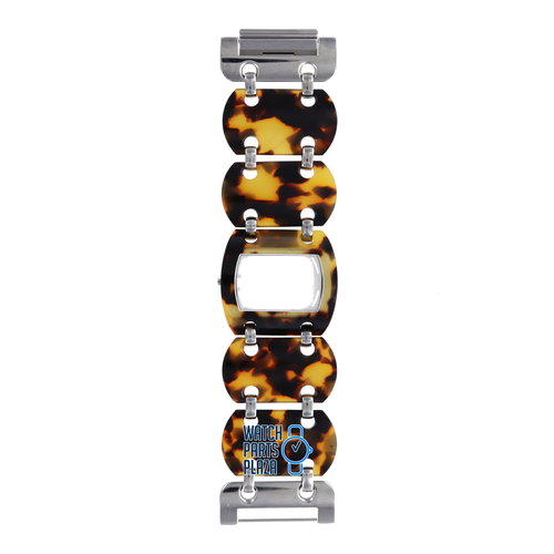 Michael Kors Michael Kors MK4143 Watch Band Brown Plastic 37 mm