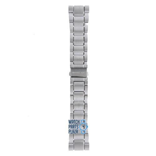 Michael Kors Michael Kors MK8084 Horlogeband Grijs Roestvrijstaal 26 mm