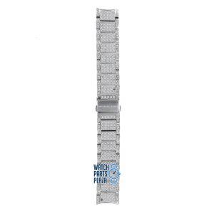 Michael Kors Michael Kors MK5060 Watch Band Grey Stainless Steel 18 mm