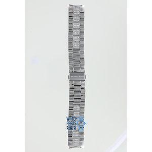 Michael Kors Michael Kors MK5108 Horlogeband Grijs Roestvrijstaal 20 mm