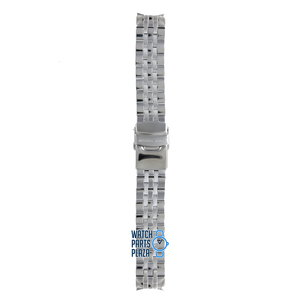 Michael Kors Michael Kors MK5021, MK5020 & MK6130 Watch Band Grey Stainless Steel 18 mm