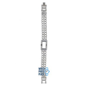Michael Kors Michael Kors MK3021 Watch Band Grey Stainless Steel 12 mm