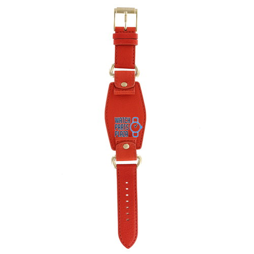 Michael Kors Michael Kors MK2157 Watch Band Orange Leather 20 mm