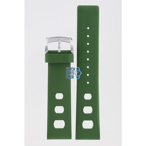 Zodiac Zodiac ZO2228 Horlogeband Groen Siliconen 22 mm