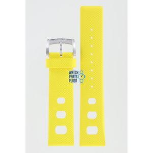 Zodiac Zodiac ZO2224 Watch Band Yellow Silicone 22 mm