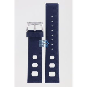 Zodiac Zodiac ZO2232 Horlogeband Donkerblauw Siliconen 22 mm