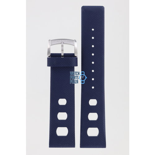Zodiac Zodiac ZO2232 Watch Band Dark Blue Silicone 22 mm