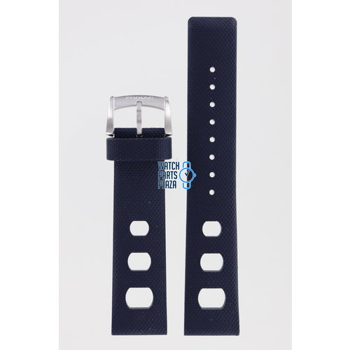 Zodiac Zodiac ZO2205 Horlogeband Donkerblauw Rubber 20 mm