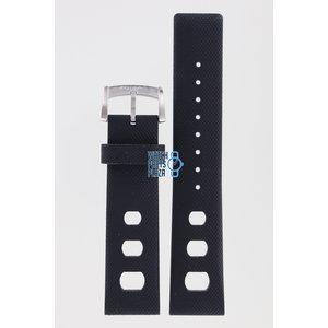 Zodiac Zodiac ZO2207 & ZO2209 Watch Band Black Rubber 22 mm