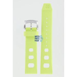 Zodiac Zodiac ZO2219 Horlogeband Groen Siliconen 20 mm