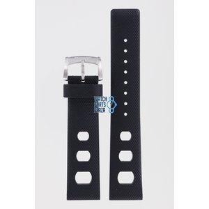 Zodiac Zodiac ZO2203 Watch Band Black Silicone 20 mm