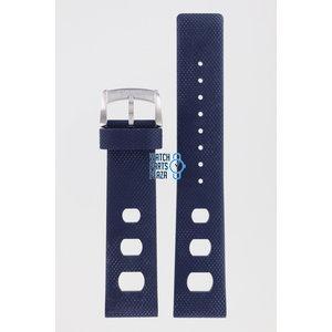 Zodiac Zodiac ZO2233 Horlogeband Donkerblauw Siliconen 20 mm