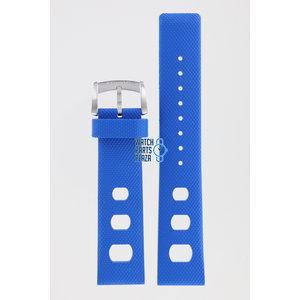 Zodiac Zodiac ZO2223 Watch Band Blue Silicone 20 mm