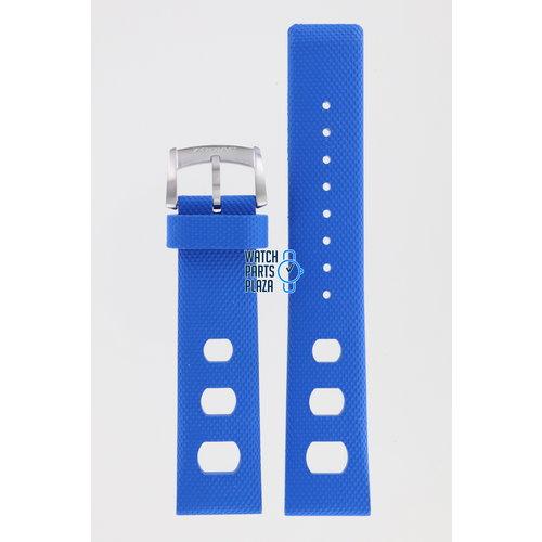 Zodiac Zodiac ZO2223 Horlogeband Blauw Siliconen 20 mm