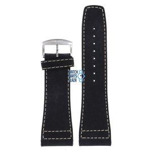 Zodiac Zodiac ZO2601 Watch Band Black Leather 28 mm