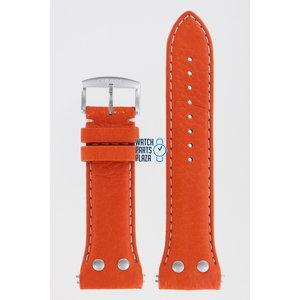 Zodiac Zodiac ZO7010 Watch Band Orange Leather 26 mm