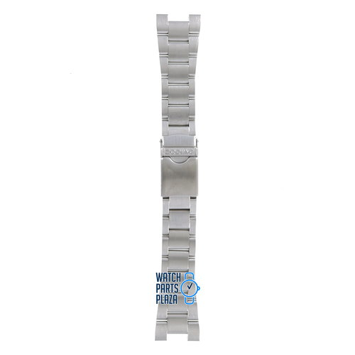 Zodiac Zodiac ZO2301 Watch Band Grey Stainless Steel 24 mm