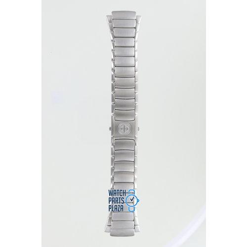 Zodiac Zodiac ZO4101 Horlogeband Grijs Roestvrijstaal 20 mm