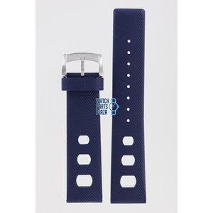 Zodiac Zodiac ZO2242 Horlogeband Donkerblauw Siliconen 22 mm