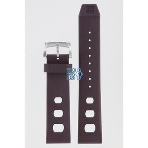 Zodiac Zodiac ZO2236 Horlogeband Bruin Siliconen 22 mm